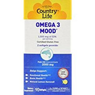 Country-Life,Omega-3 Mood (90-Softgel)