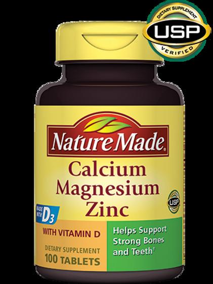 Calcium, Magnesium, Zinc Tablets