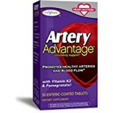 Enzymatic Therapy Artery Health, with Folic Acid, B12, Garlic Bulb, Blood Pressu