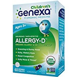 Genexa Homeopathic Allergy for Children: The Only Certified Organic Kids Allergy
