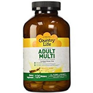 Country-Life,Chewable Adult's Multi (120-Tablet)