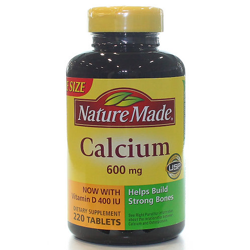 Calcium 600 mg with Vitamin D Tablets
