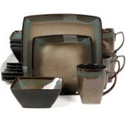 Gibson Tequesta 16-Piece Dinnerware Set
