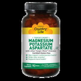Country-Life,Magnesium - Potassium - Aspartate (90-Tablet)