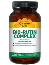 Country-Life, Bio-Rutin Complex 500 mg/500 mg