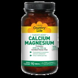 Country-Life,Calcium Magnesium (90-Tablet)