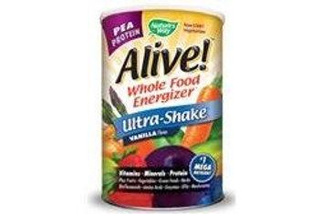 Nature's Way Alive Ultra-Shake Pea Protein Vanilla 33 oz