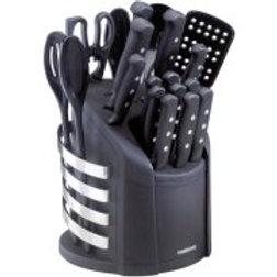 Farberware 17-Piece Cutlery Set with Carousel
