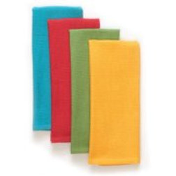 The Pioneer Woman Honeycomb Kitchen Towel Set, 4 pk, Solid