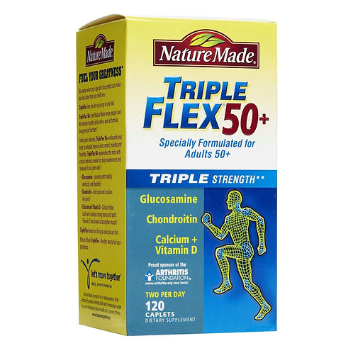 TripleFlex 50+ Caplets
