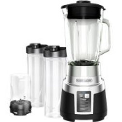 BLACK+DECKER FusionBlade Blender with 2 Personal-Size Jars and Grinding Jar