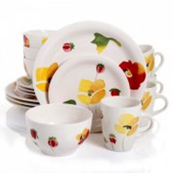 Gibson Home Haleyville 16 Piece Dinnerware Set