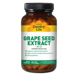 Country-Life,Grape Seed Extract 200 mg (30-vegicaps)