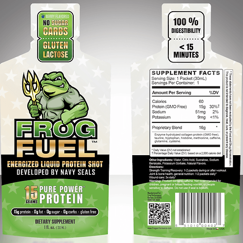 FrogFuel Power Protein Energized - 24 Count