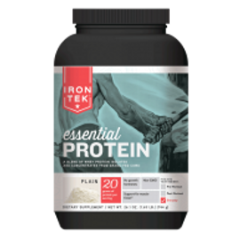 IRON TEK ESSENTIAL PROTEIN PLAIN 26.1 OZ