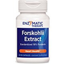 Enzymatic Therapy Forskohlii Extract Vegetarian Capsules, 60 Count