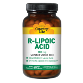 Country-Life,R-Lipoic Acid 100 mg
