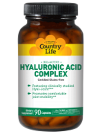 Country-Life,Bio-Active Hyaluronic Acid Complex