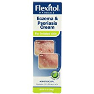 Flexitol Naturals Eczema & Psoriasis Cream 2 oz, Steroid-Free