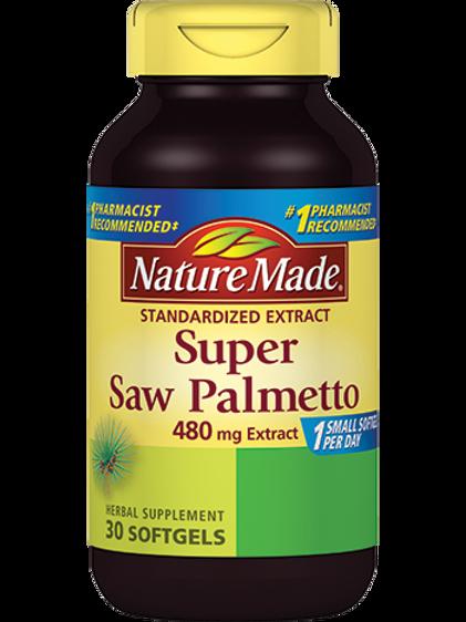 Super Saw Palmetto 480 mg Liquid Softgels