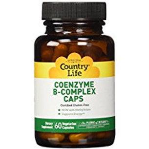 Country-Life,Coenzyme B-Complex Caps (60-Vegicaps)