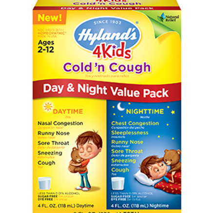 Hyland's 4 Kids Cold 'n Cough Day & Night Value Pack