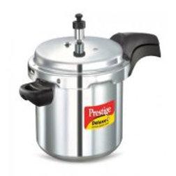 Prestige Deluxe Plus Aluminum Pressure Cooker, 7 Liter
