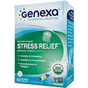 Genexa Homeopathic Stress & Anxiety Relief: Natural, Certified Organic, Physicia