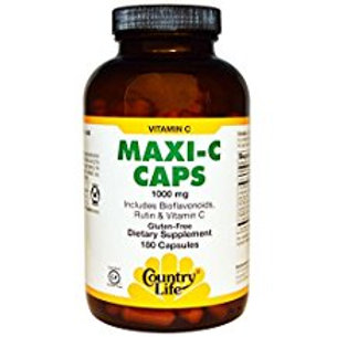 Country-Life, Maxi-C Caps 1,000 mg