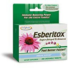 Enzymatic Therapy Esberitox Chewables, 200 Tablets