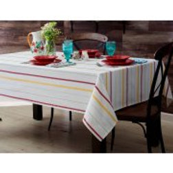 The Pioneer Woman Vintage Stripe Tablecloth