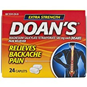 Doan's Extra Strength Pain Reliever Caplets, 24 Count