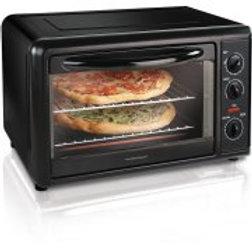 Hamilton Beach Countertop Toaster Oven with Convection, Black
