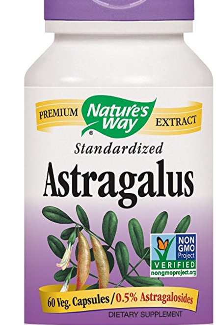 Nature's Way Astragalus Root, 60 Vcaps