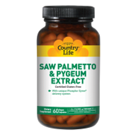 Country-Life,Saw Palmetto & Pygeum Extract