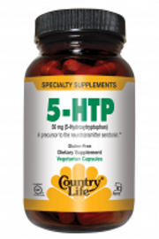 Country-Life,5-HTP Tryptophan 50 mg (50-Vegicaps)