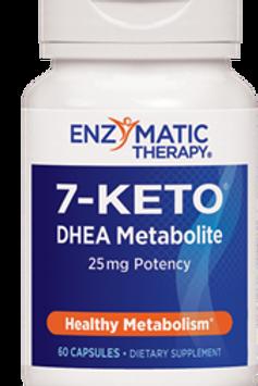 Enzymatic Therapy 7-KETO, Dhea metabolite, 60 Capsules