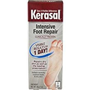 Kerasal Intensive Foot Repair Exfoliating Moisturizer 1oz. Visible results for d