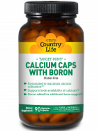 Country-Life,Calcium Caps with Boron