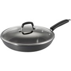 "Tramontina 12"" Gourmet Hard Anodized Nonstick Frying Pan with Lid"