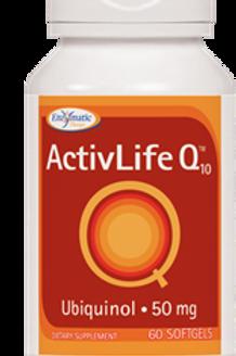 Activlife Q10 Ubiquinol 50mg Enzymatic Therapy Inc. 60 Softgel