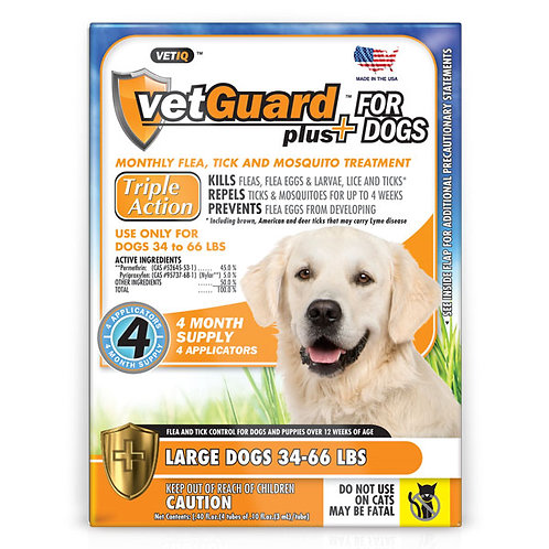 VETGUARD PLUS LRG DOG OTC