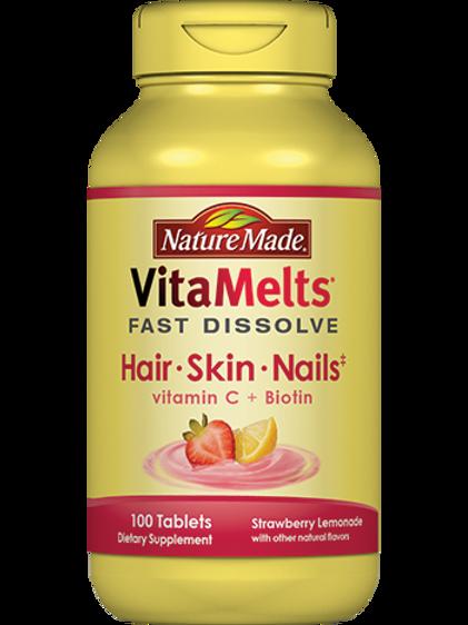 VitaMelts Hair, Skin and Nails Dissolving Tablets