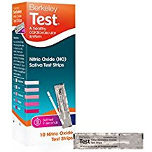 Berkeley Test Nitric Oxide Saliva Test Strips, 10 Count