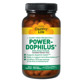 Country-Life,Dairy-Free Probiotic Power-Dophilus®(50-Vegicaps)