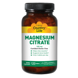 Country-Life,Magnesium Citrate 250 mg