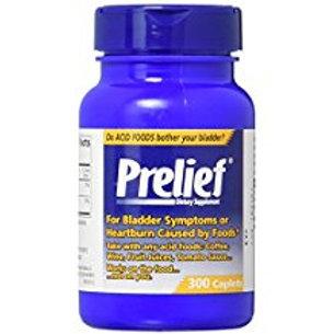 Prelief Acid Reducer Dietary Supplement Caplets, 300 Count  Prelief