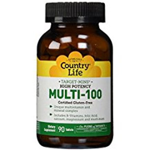 Country-Life,MULTI-100 – HIGH POTENCY with Target-Mins®