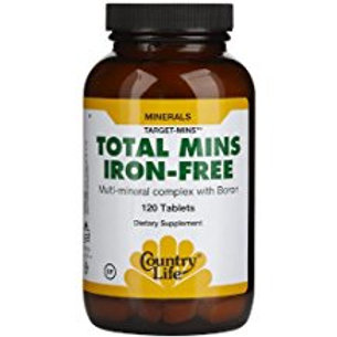 Country-Life,Total Mins Iron-Free Multi-Mineral Complex