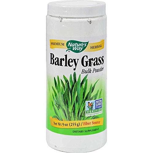Nature's Way - Barley Grass Bulk Powder, 9 oz powder